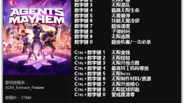 Agents of Mayhem: Трейнер/Trainer (+21) [1.0 - 1.05] {FLiNG}