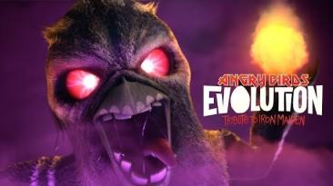 В Angry Birds появятся противники в стиле Iron Maiden