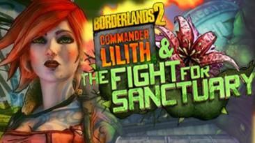 Состоялся релиз бесплатного дополнения Commander Lilith & the Fight for Sanctuary для Borderlands 2