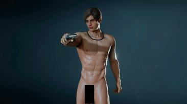 Первый мужской Nude-мод для Resident Evil 2 Remake