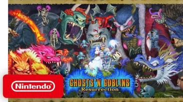 Объявлена дата релиза ремейка Ghosts 'n Goblins на PS4, Xbox и ПК