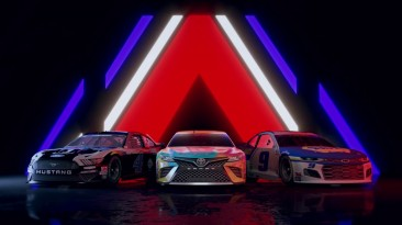 Анонсирующий трейлер гоночного симулятора NASCAR Heat 5