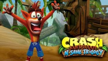 Crash Bandicoot: N.Sane Trilogy - бестселлер июля в Великобритании, продажи God of War начали замедляться