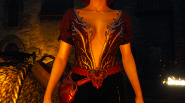"""Witcher 3: Wild Hunt """"Triss DLC Outfit (Remodeled)"""""""