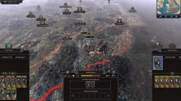 Геймплей Total War Saga: Thrones of Britannia за Мерсию