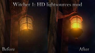 """The Witcher """"Улучшенные источники света"""""""