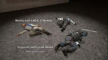 """Garry's Mod """"[L4D2] Survivor Death Animations"""""""