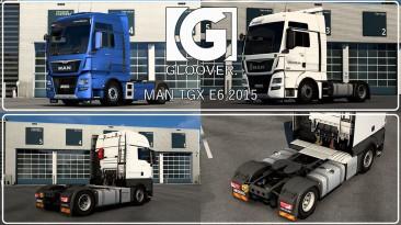 """Euro Truck Simulator 2 """"Переработанный MAN TGX Euro6 v1.2"""""""