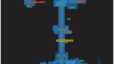 Batman: Arkham Origins: Совет (Карта расположения всех информаторов Энигмы, файлов с компроматом, жертвы во льдах и т.д.)