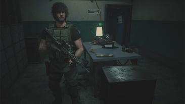 "Resident Evil 3 ""Уменьшенный масштаб камеры Карлоса"""