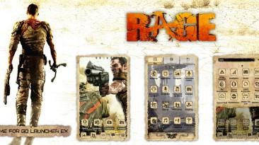"Rage ""HD - тема для ANDROID"""