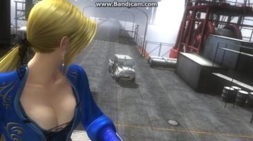 """Dead or Alive 5 Last Round Глюк - """"Баба - вертолёт"""" на PC"""