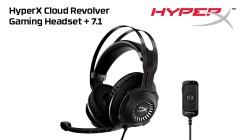Начались продажи игровой гарнитуры HyperX Cloud Revolver + 7.1
