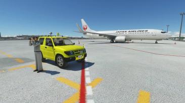 Теперь вы можете управлять автомобилем в Microsoft Flight Simulator с помощью бесплатного дополнения