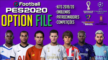 "PES 2020 ""PS4/PC Option File Сезон 2020/2021 V9.0 [PESVicioBR]"""
