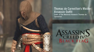 "Assassin's Creed 4: Black Flag ""Скин Томас де Карнейон"""