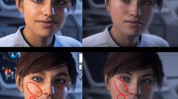 Патч первого дня намеренно уродует лицо протагонистки Mass Effect: Andromeda
