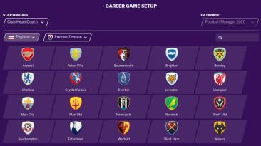 "Football Manager 2020 ""Логотипы сезона 2019-2020"""