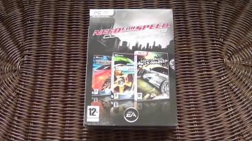 Распаковка Need for Speed Collector's Series: Underground, Underground 2 и Most Wanted
