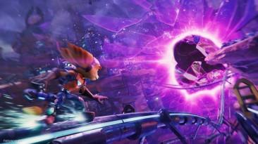 Игроки смогут замедлять игровой процесс в Ratchet & Clank: Rift Apart