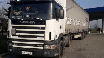"Euro Truck Simulator 2 ""Scania 164L V8 Звуковой мод v0.1 (v1.40.x)"""