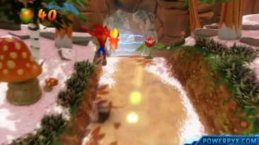 Crash Bandicoot 2 Cortex Strikes Back - Получение трофея The Flora Flop.