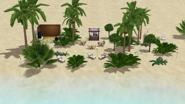 "The Sims 3 ""Город Lost World (Затерянный Мир)"""