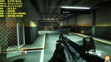 Crysis 2 PC Gameplay GTX 1060 4K Frame Rate Test 7700K Производительность