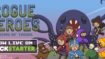 На Kickstarter проходит кампания кооперативной ролевой игры Rogue Heroes: Ruins of Tasos