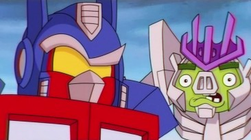 "Angry Birds Transformers ""Эпичный трейлер"""