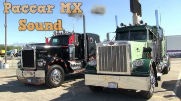 "Мод для American Truck Simulator ""Paccar MX sound mod"" by Leen (rel 29.11.2018)"