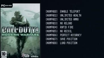 Call of Duty 4: Modern Warfare: Трейнер/Trainer (+7) [1.7] {LIRW / GHL}