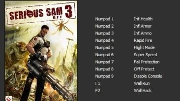 Serious Sam 3 - BFE Gold Edition: Трейнер/Trainer (+11) [v3.0.3.0.261096] [PC | Лицензия] {Enjoy}