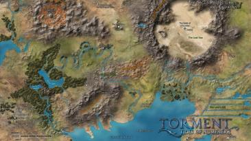 """Torment: Tides of Numenera """"World Map(Карта мира)"""""""