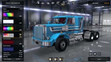 American Truck Simulator. Обзор Autocar DC. Шедевр от автора XBS