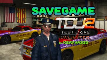 Test Drive Unlimited 2: Сохранение/SaveGame (Максимальный Старт, Транспорт Автошкол) [Offline]
