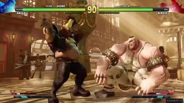 Street Fighter 5 - Abigail Arcade Mode