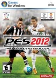Обложка игры Pro Evolution Soccer 2012
