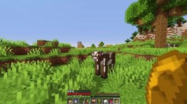 Minecraft без добычи блоков