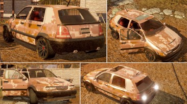 """State of Decay """"SOD - AOR1 Hatchback Retexture"""""""