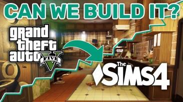 В The Sims 4 воссоздали жилье Тревора из GTA 5