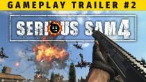 Devolver Digital опубликовали второй геймплейный трейлер Serious Sam 4