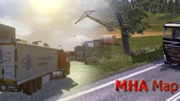 """ETS2 """"MHAPro map EU 2.2"""""""