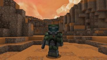 Почти 800 часов работы и впечатляющий результат: энтузиаст создает в Minecraft карту с DOOM