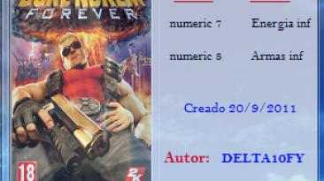 Duke Nukem Forever: Трейнер (+2) [1.0] {Delta10FY}