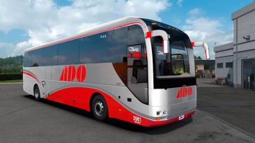"Euro Truck Simulator 2 ""Мод Man Lion Coach + Interior (1.39-1.40.x)"""