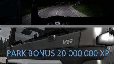 Euro Truck Simulator 2: Чит-Мод/Cheat-Mode (Начало: Деньги 100.000.000, +20.000.000 XP)