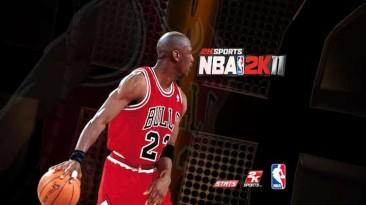 """NBA 2K10 """"NBA 2K11 Startup Screen"""""""
