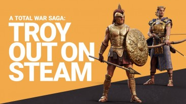 Total War Saga: Troy вышла в Steam. Также стало доступно расширение Mythos