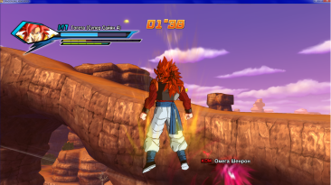 "Dragon Ball Xenoverse ""Gogeta ssj4"""